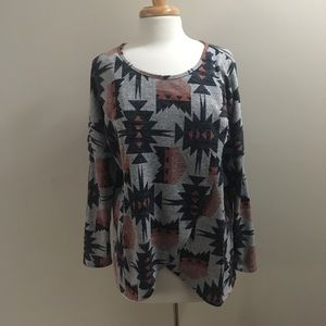 Entro aztec boutique top